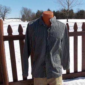 Converse John Varvatos Mens Button Front Shirt XL